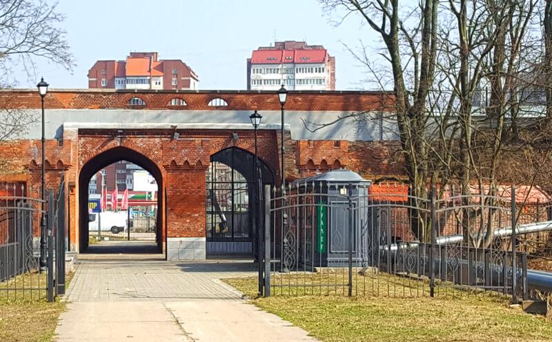 Железнодорожные ворота