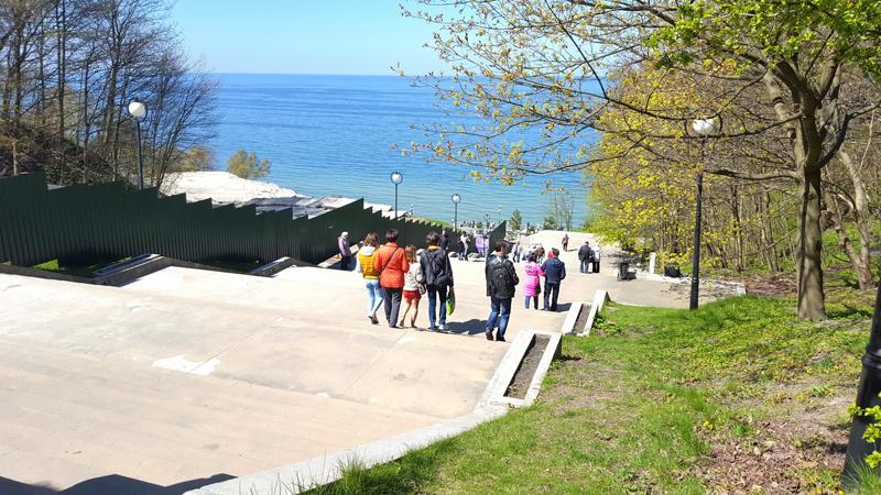 Спуск к Балтийскому морю