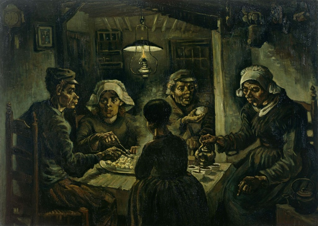 Винсент Ван Гог, «Едоки картофеля»