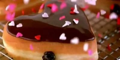 Десерт-сердечко