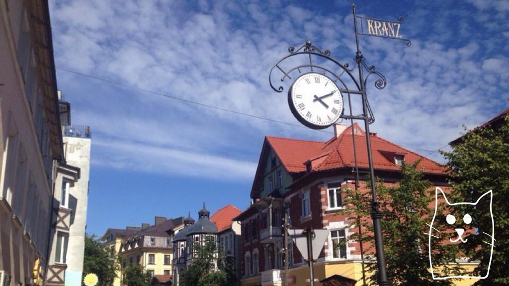 Уличные часы, дома