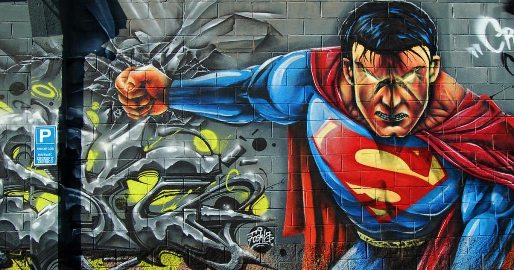 Граффити:супермен