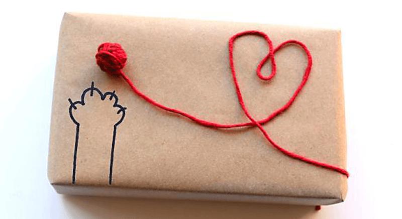 Конверт с сердечком
