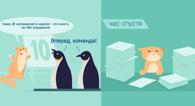 Два пингвина и кот+кот за бмагами