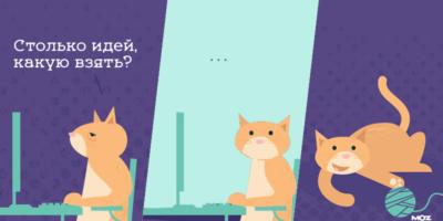 Два кота за ноутбуками и один с клубком