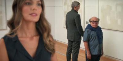 Женщина, высокий и низкий мужчины