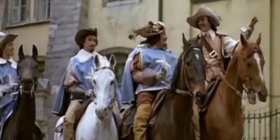 Мушкетеры на конях