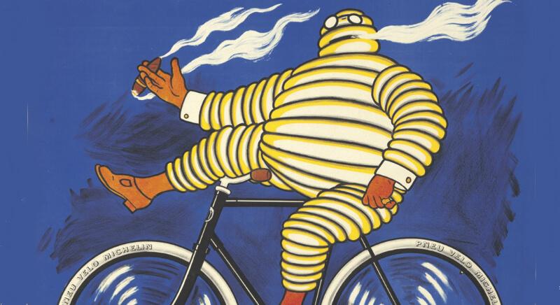 На велосипеде с сигарой