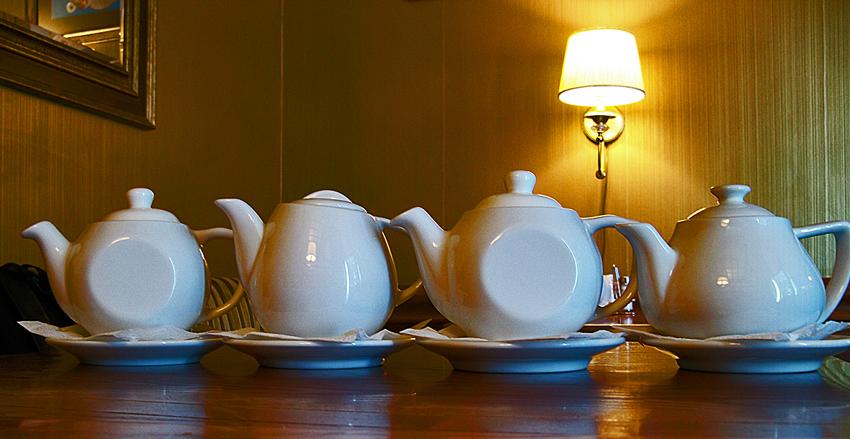 4 заварных чайника