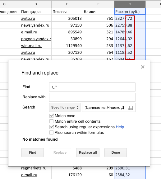 Пошаговая инструкция: как вручную свести конверсии и стоимость площадок РСЯ в Google Analytics