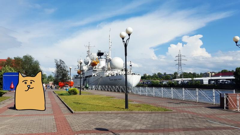 Корабль, фонарь