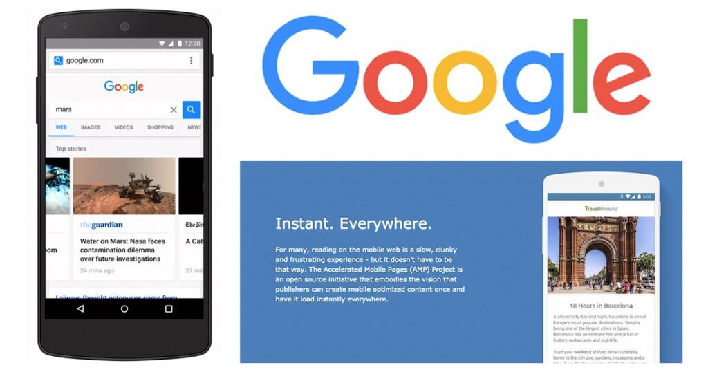 Смартфон, надпись: гугл